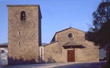 Pieve di Santa Maria a Dicomano. Foto di Massimo Certini