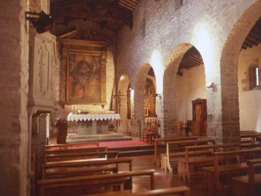 Pieve di Santa Maria, interno. Dicomano. Foto di Massimo Certini
