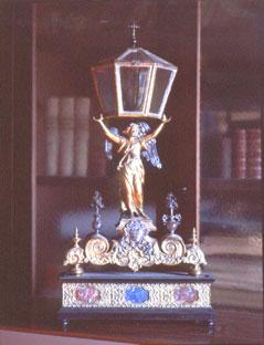 Reliquiario di Sant'Ilario. Pieve di Dicomano. Foto di Massimo Certini