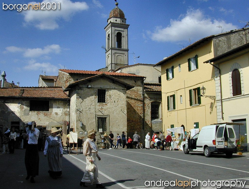 Borgo San Lorenzo nel 2001