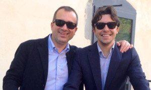 Enrico Paoli con Giovanni Bettarini 2