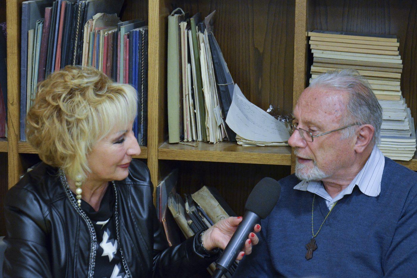 Paola Leoni intervista Padre Cellana