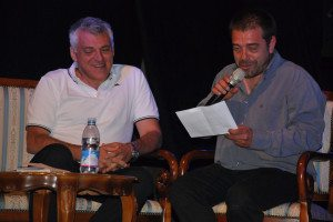 Ugo De Vita con il presidente di Non Perire d-Inedia
