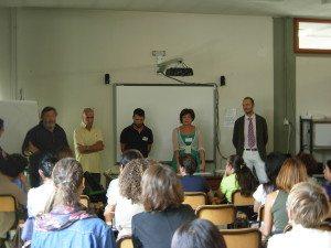 IL corso di primo soccorso pediatrico nella scuola di Borgo San Lorenzo