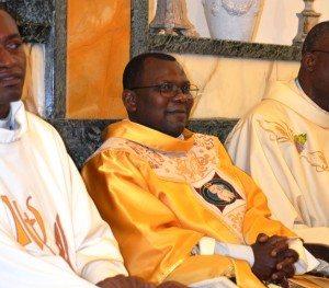 Don Pierre Mvubu Babela, nuovo cappellano a Borgo San Lorenzo