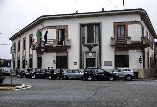 La caserma dei Carabinieri di Borgo San Lorenzo