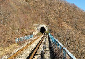 Un tratto della linea Faentina