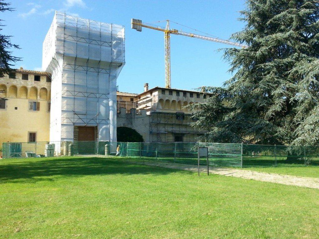 Castello di cafaggiolo, ottobre 2014