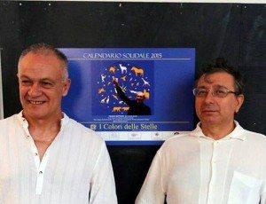 Ezio Alessio Gensini e Leonardo Santoli