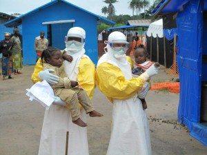 Il centro di Medici Senza Frontiere in Liberia, dove opera Massimo Galeotti