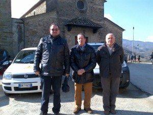 re Governatori della Misericordia (da sinistra l'attuale Governatore, Francesco Nencetti, Ruggero Ciappi, Romano Fezzi)