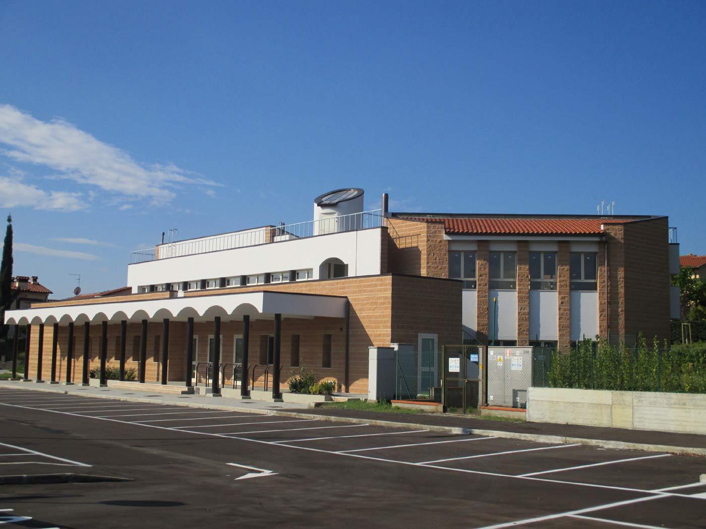 Il nuovo centro civico polifunzionale di via Vespucci a Barberino di Mugello