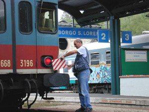 Faentina - La stazione di Borgo San Lorenzo
