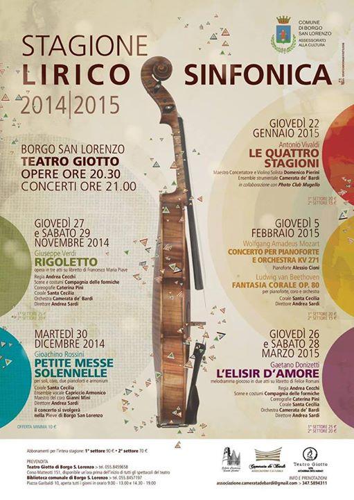 stagione lirico sinfonica 2014 2015
