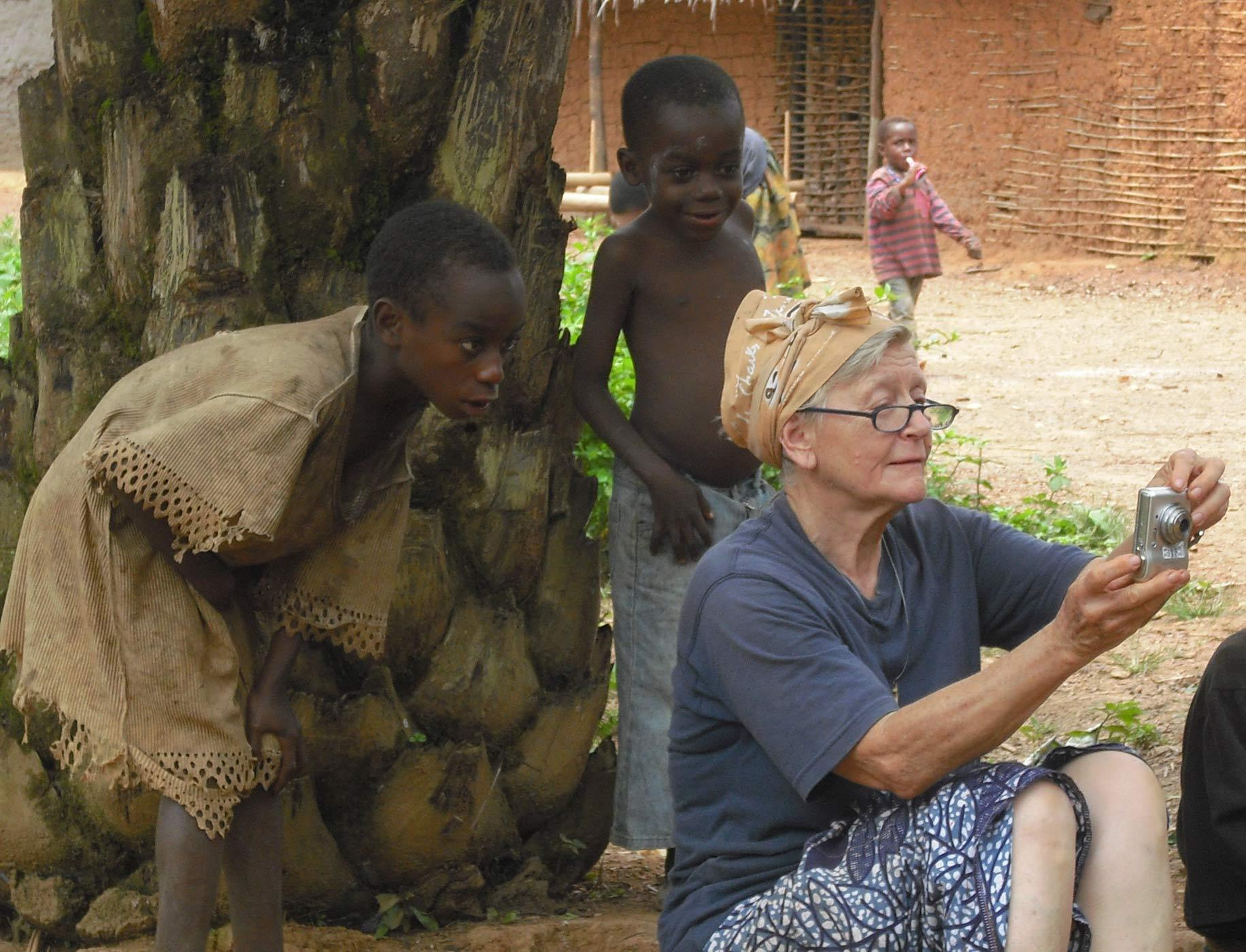 Rita Rossi, missionaria marradese
