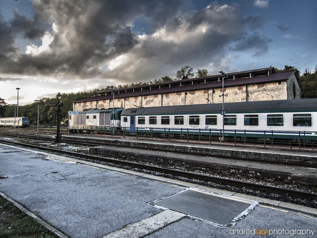 La stazione FS di Borgo San Lorenzo