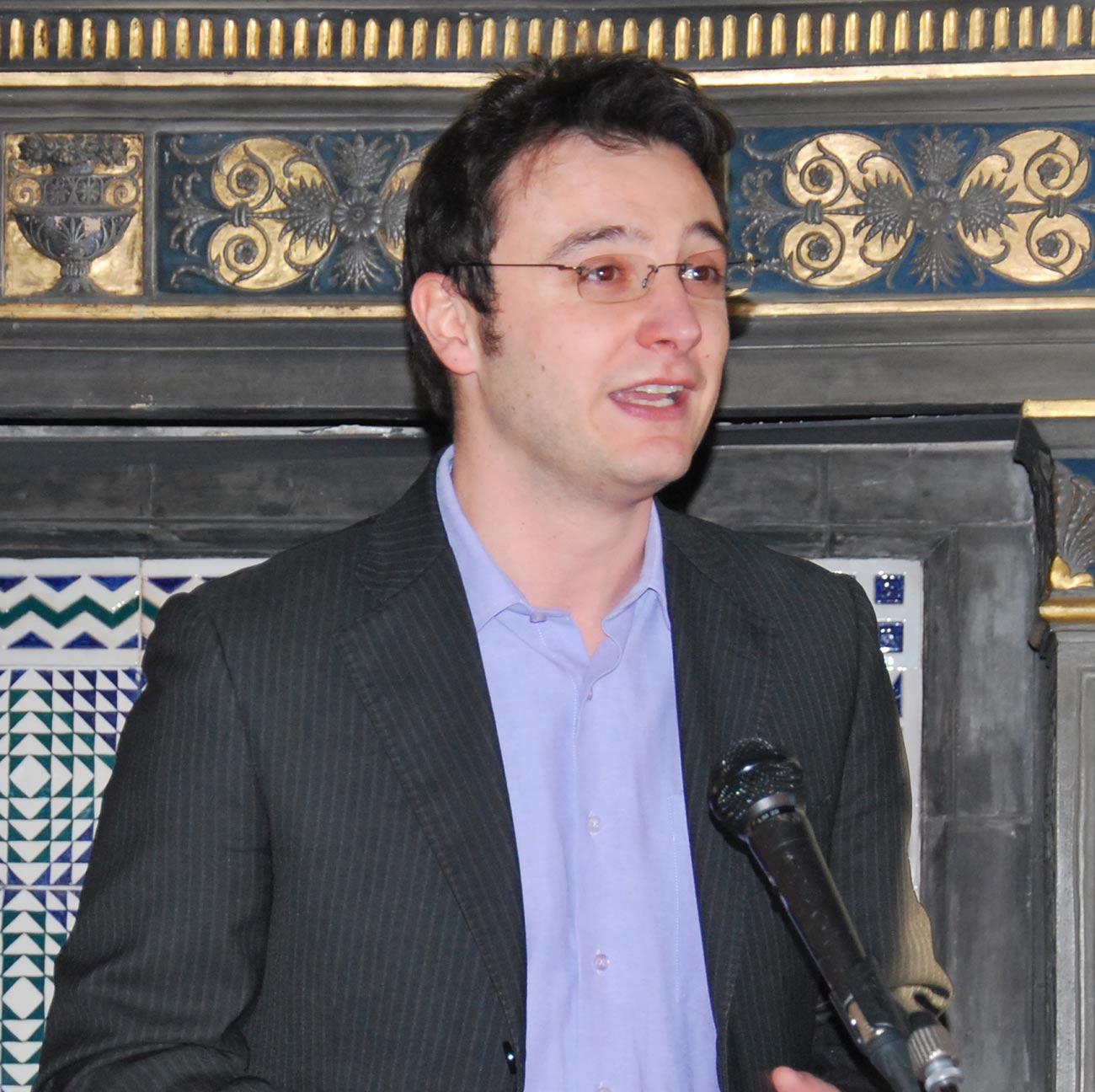 Cristian Menghetti, sindaco di Palazzuolo sul Senio