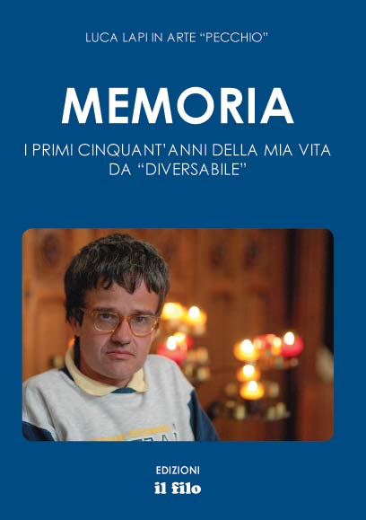 La copertina del libro di Luca Lapi