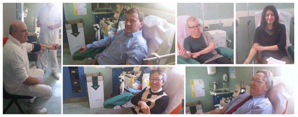 Donazione in Comune 2015 AVIS Scarperia e San Piero