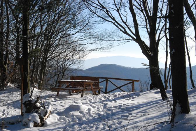 Il Mugello dei sentieri: uno dei punti panoramici