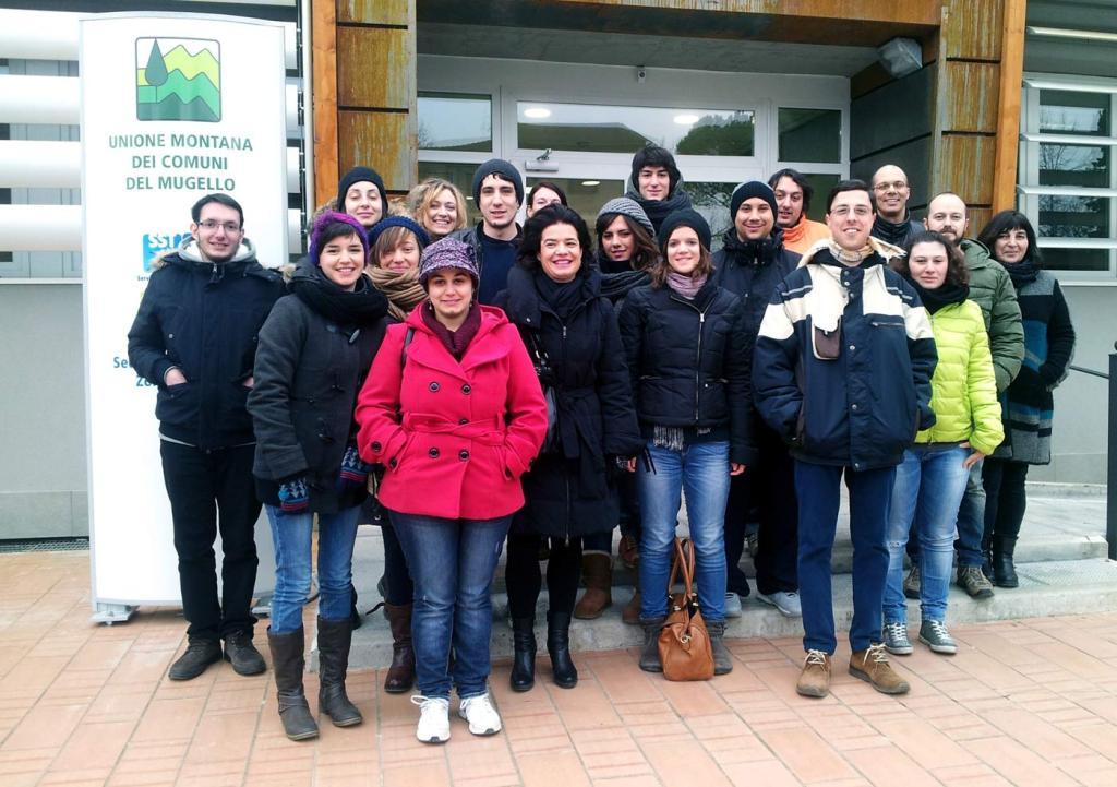 I giovani del servizio civile 2014 in Mugello