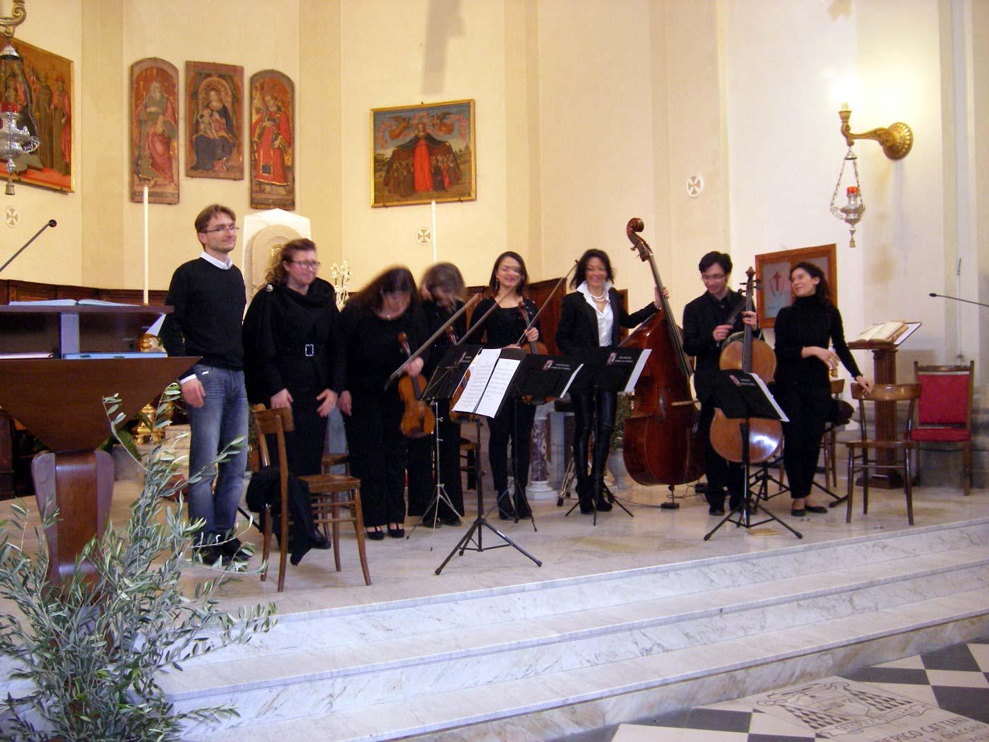 I concertisti di Opera In-Stabile a Marradi