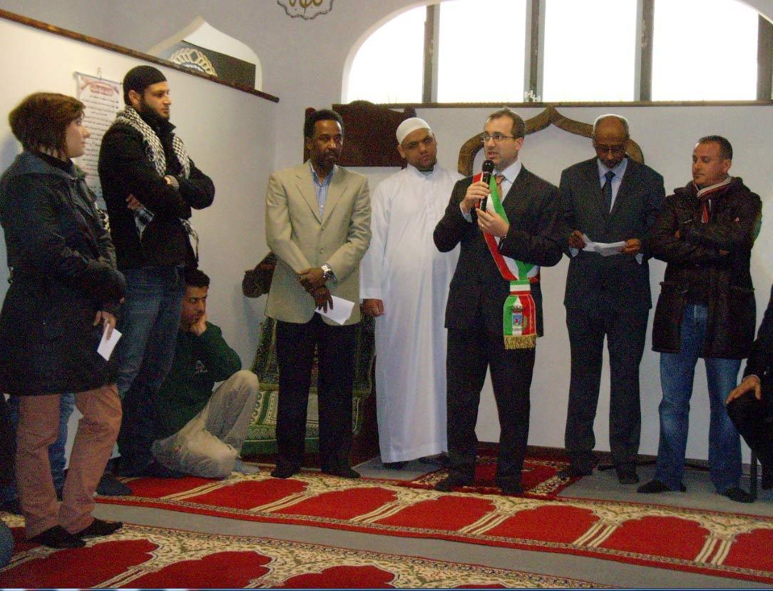 Foto d'archivio - L'inaugurazione del Centro culturale islamico di Borgo San Lorenzo, marzo 2013