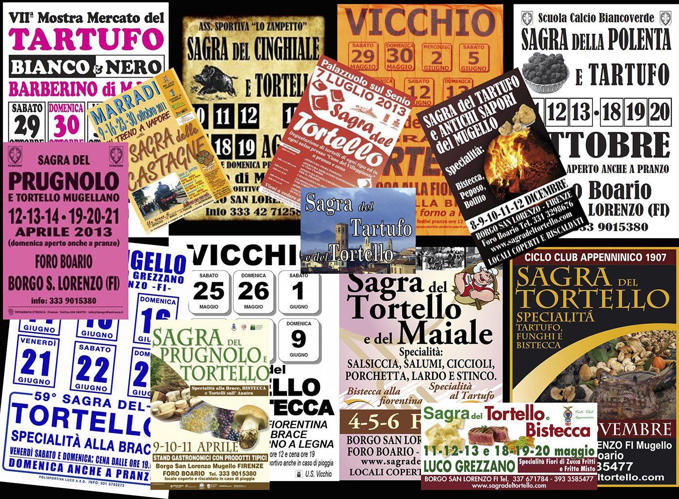 Calendario Sagre.Il Filo Del Mugello 169 Giorni Di Sagre A Borgo San