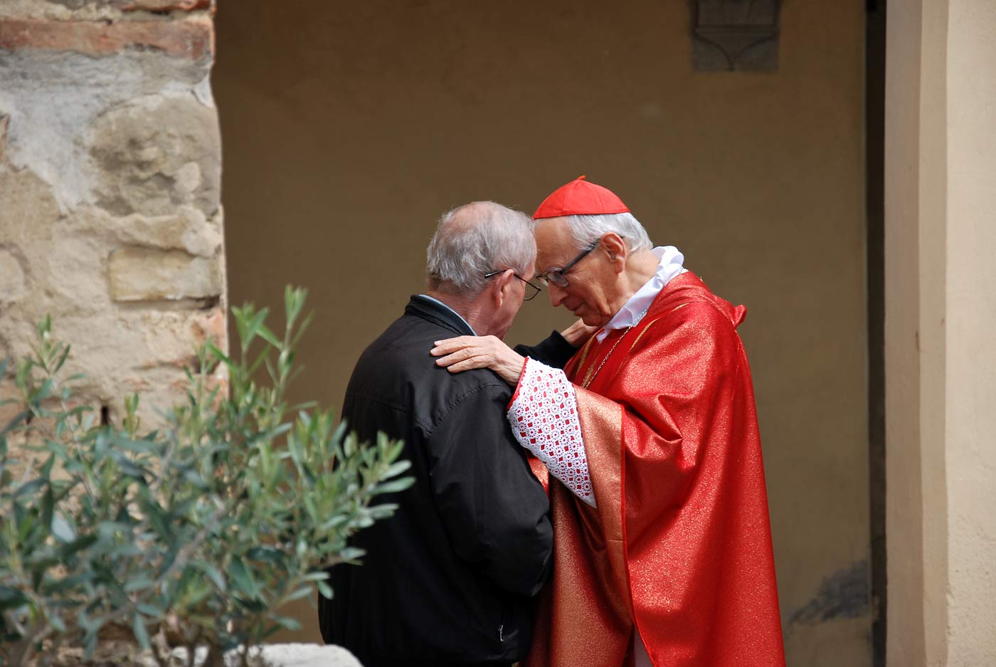 Il cardinal Piovanelli