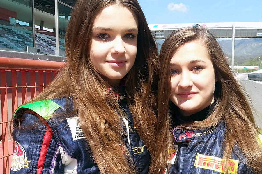 Julia e Viktoria Pankiewicz