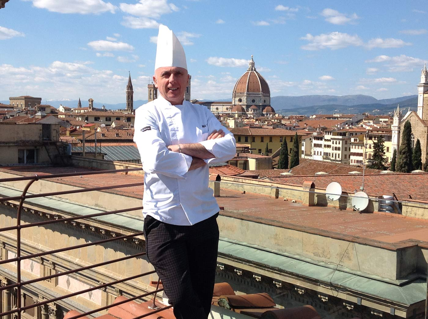 Lo chef Luigi Incrocci