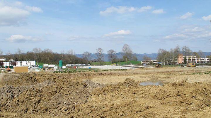 Cantiere urbanizzazione nuova area industriale località Petrona
