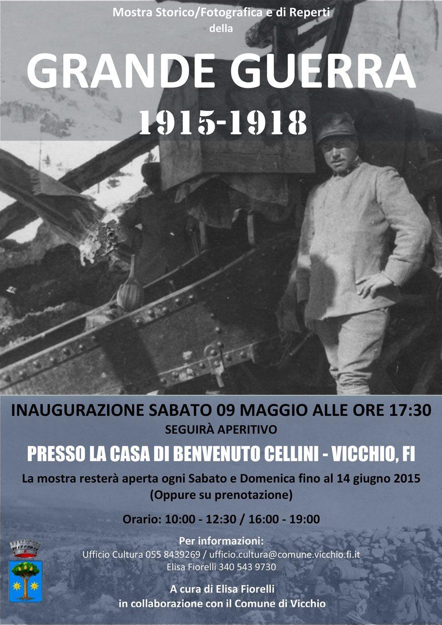 "Vicchio, ""Grande Guerra 1915-1918"""