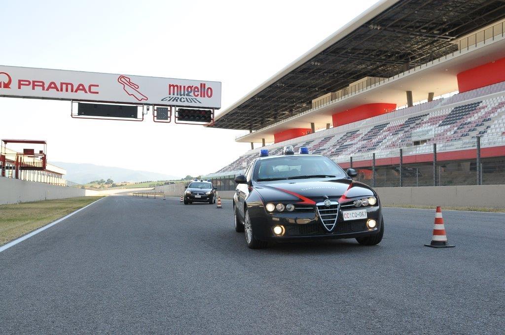 Carabinieri all'Autodromo