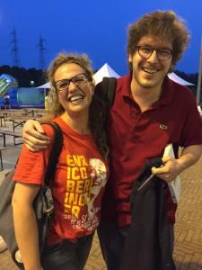 David Allegranti con Caterina Seneci