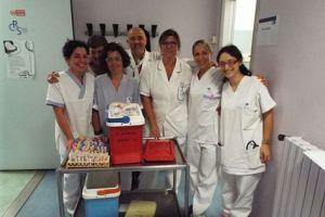 Ingorgo Avis 7 Staff Centro Trasfusionale Ospedale del Mugello