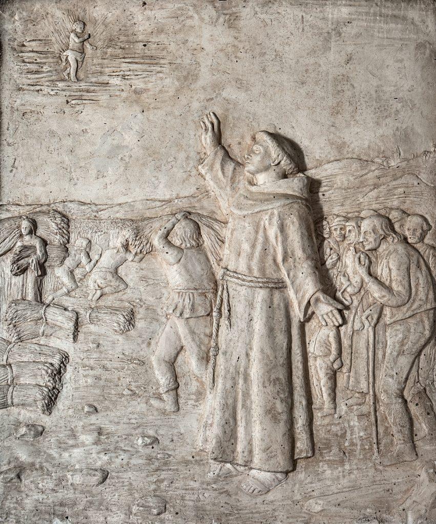 Rappresentazione di vita francescana (foto di Andrea Lapi © - riproduzione vietata)