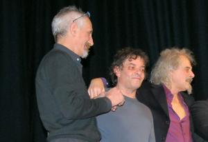 Da sinistra, Angelino Cappelli, Pape Gurioli ed Enrico Maria Papes