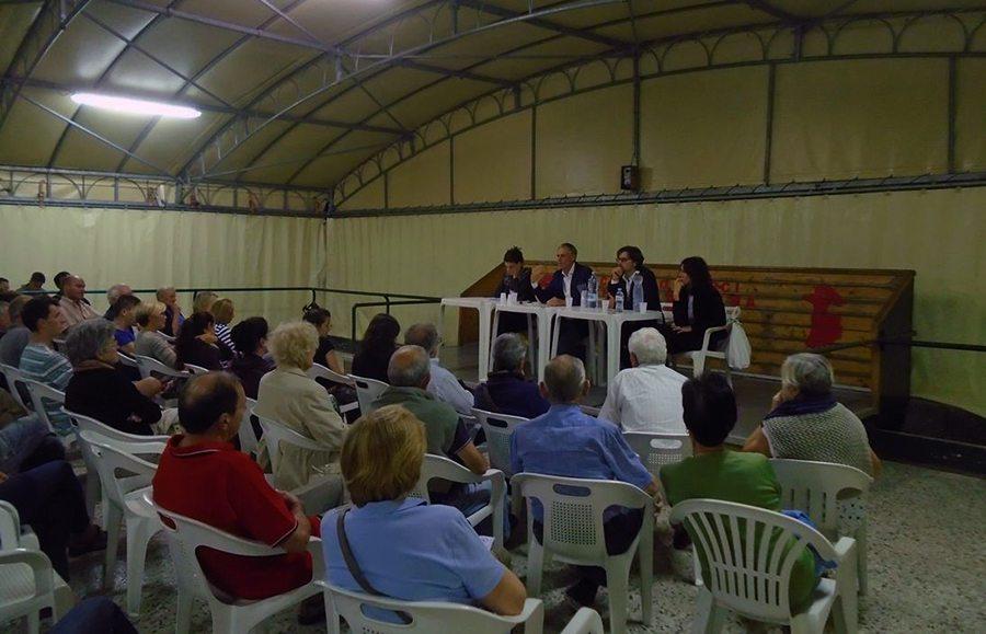 L'incontro del Sindaco Borchi con la popolazione di Fontebuona per spiegare l'arrivo dei migranti