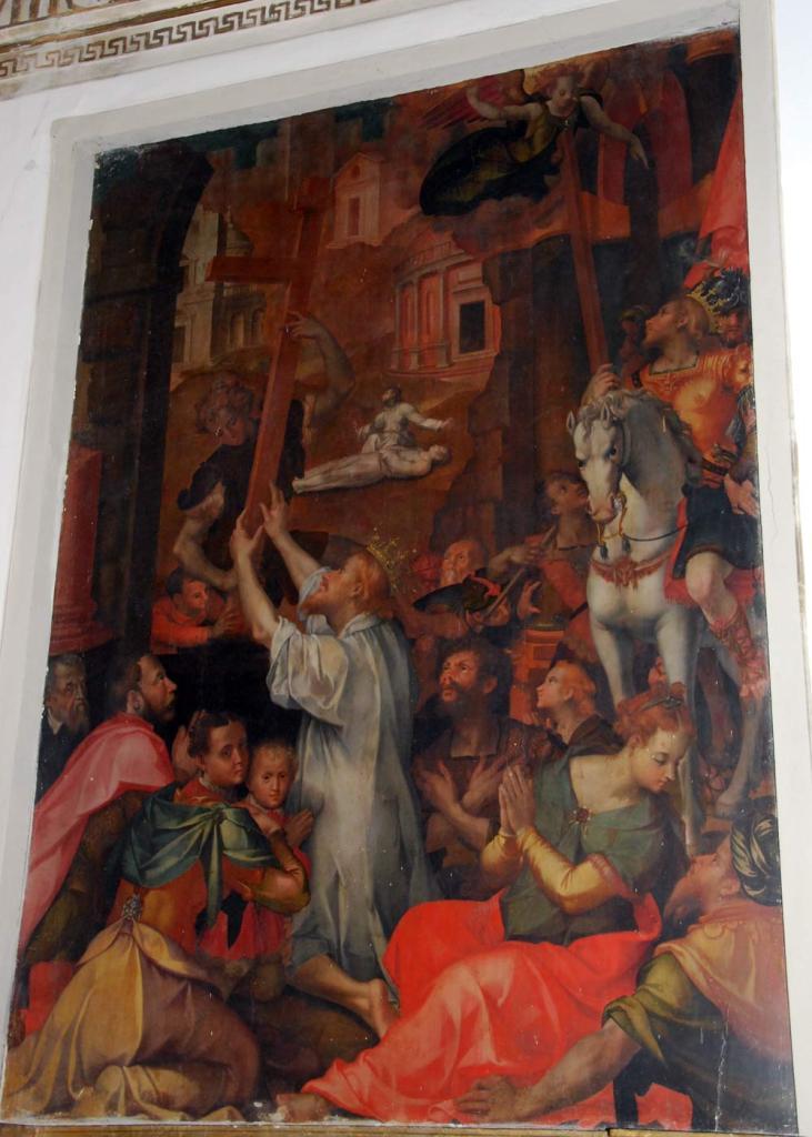 La restituzione della Croce di Carlo Portelli