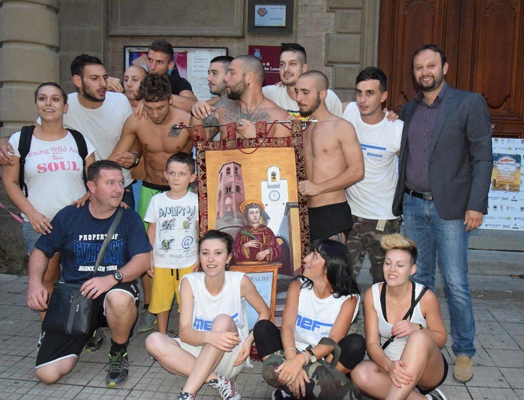 I vincitori del Palio di San Lorenzo 2015