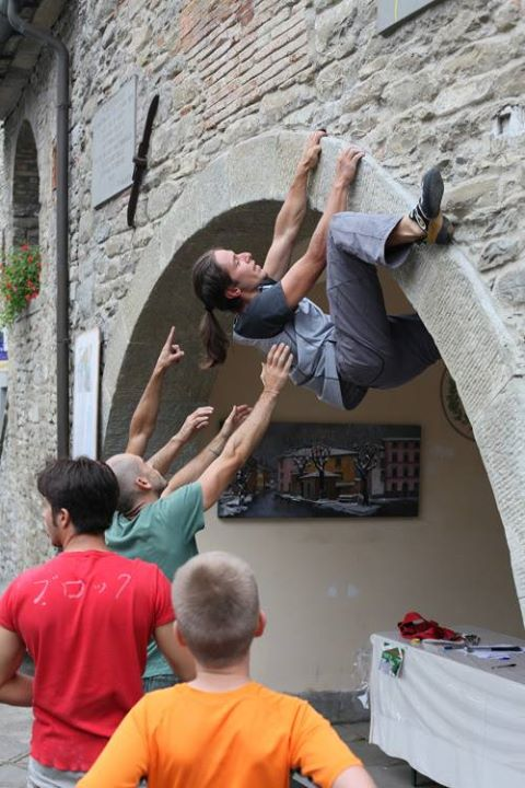Street boulder a Palazzuolo