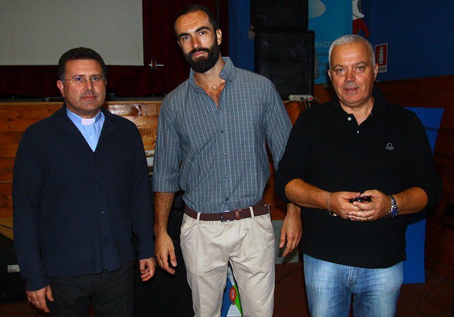 In foto: Don Nicolò Santamarina, Pietommaso Messeri, Patrizio Baggiani