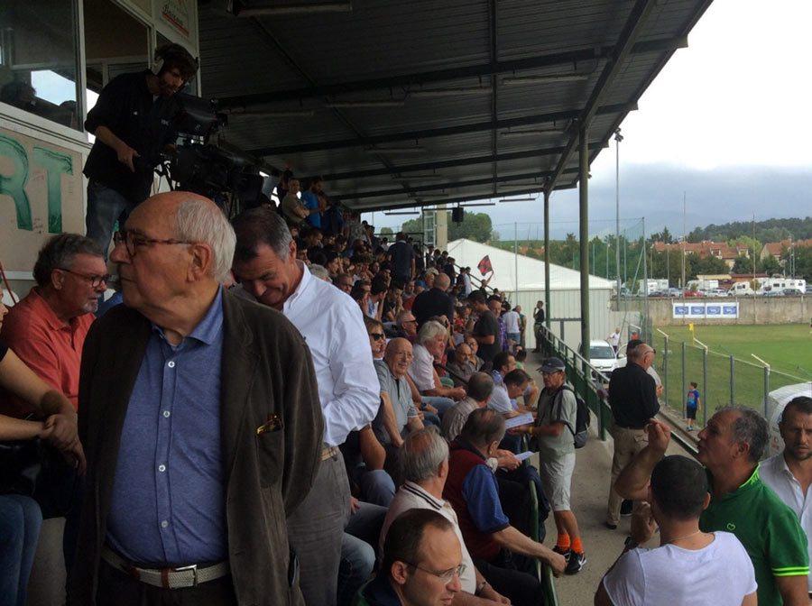 Fortis - Parma al Romanelli, la tribuna è piena