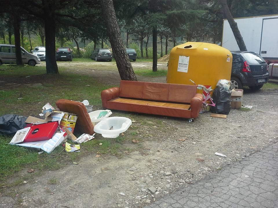 rifiuti abbandonati marradi