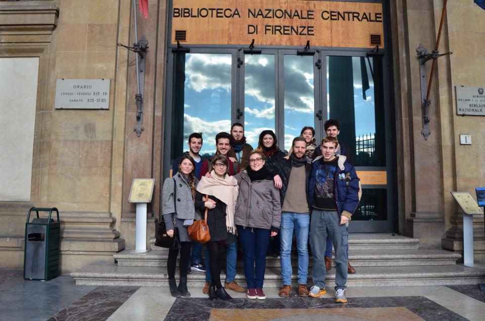 Gli Amici delle Biblioteche di Borgo San Lorenzo in visita alla Biblioteca Nazionale di Firenze