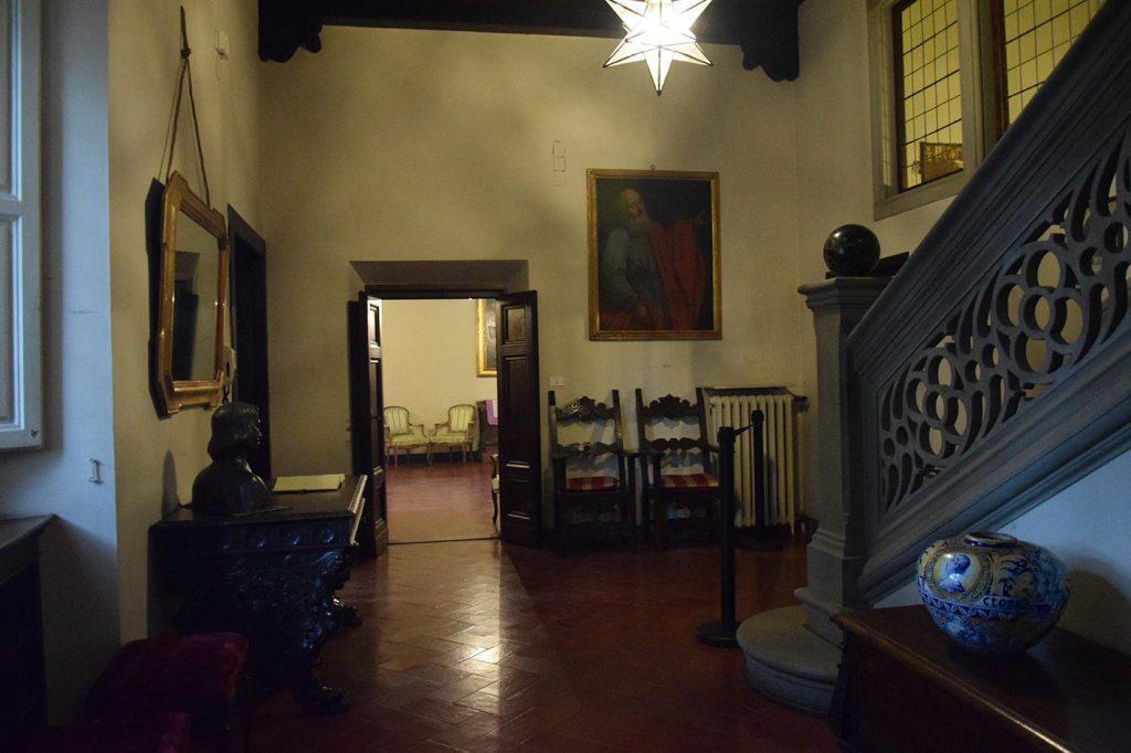 Castello di Barberino, interni
