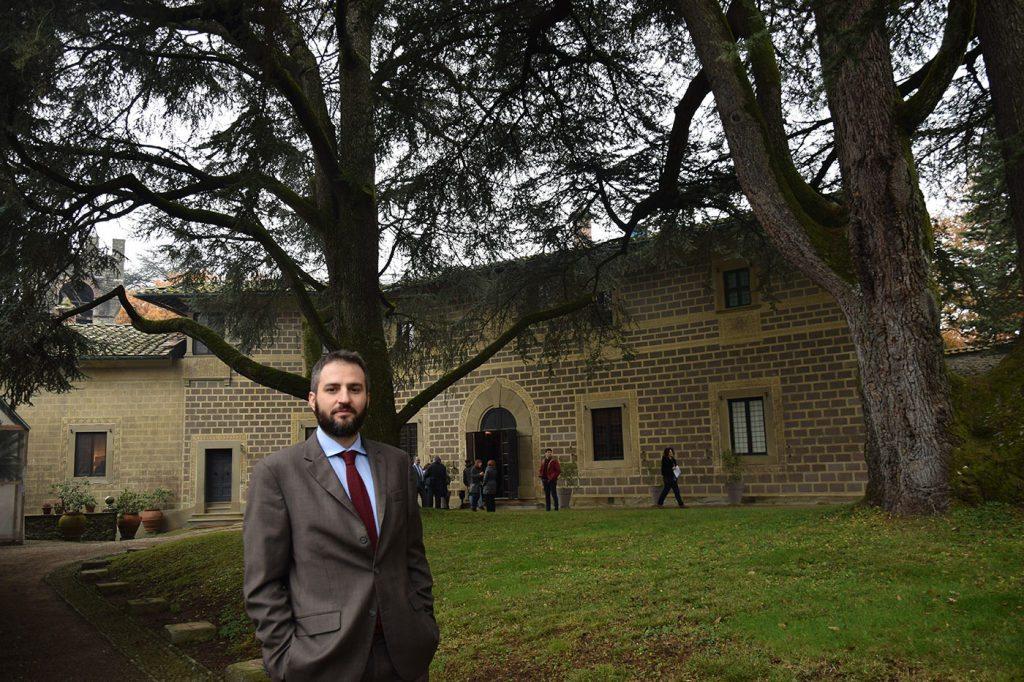 L'amministratore della Germinale srl, la società proprietaria del Castello. Giorgio Gramegna