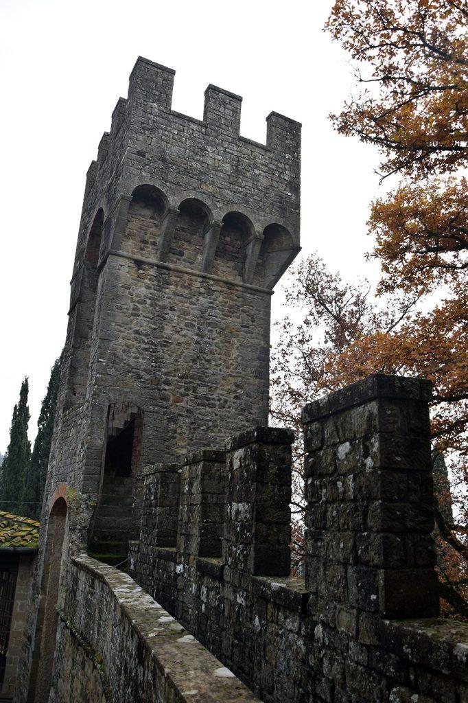 La torre e i merli del Castello