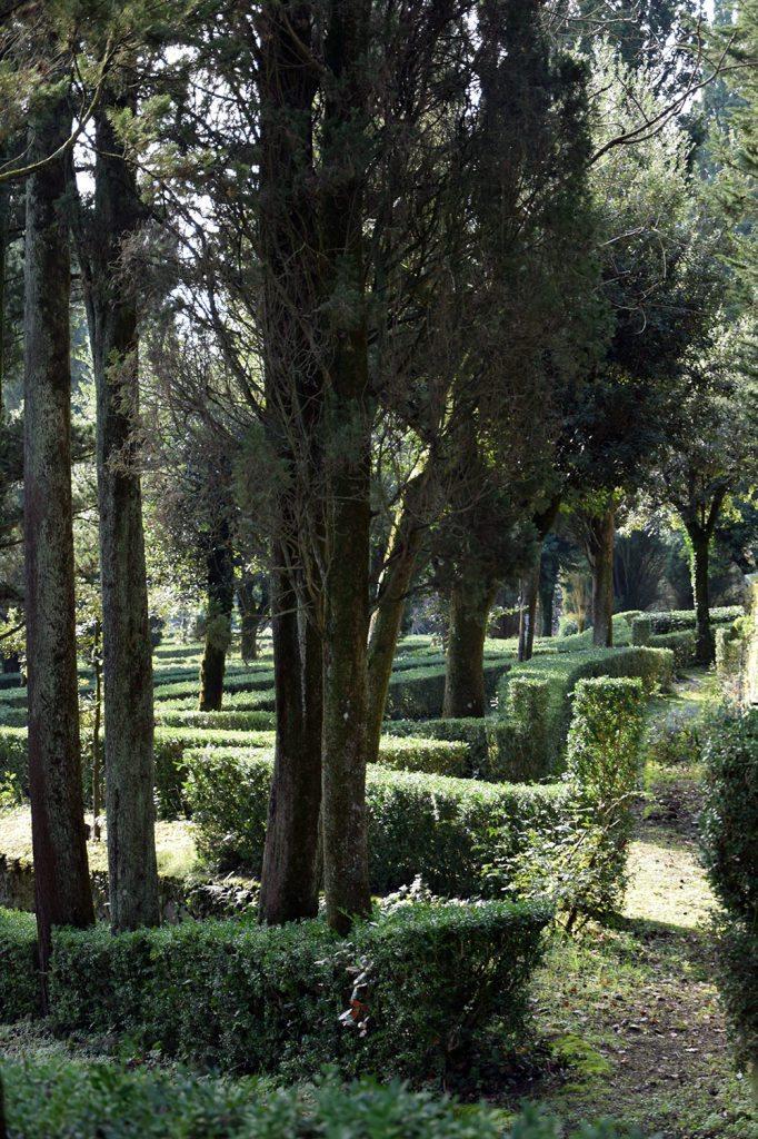 Il giardino all'italiana del Castello di Barberino